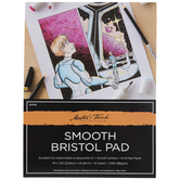 Master's Touch Smooth Bristol Paper Pad