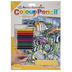 Tropical Fish Color Pencil By Number Kit