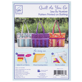 Quilt As You Go Sophie Tote Batting