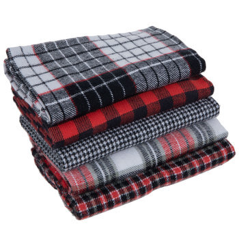 Patterned Flannel Fat Quarters