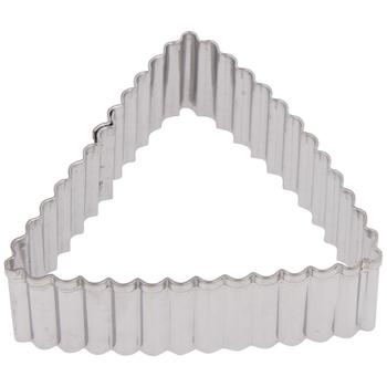 Crinkle Shape Metal Cookie Cutters