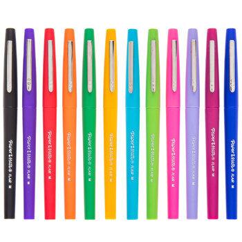 Vivid Flair Felt Tip Pens - 12 Piece Set