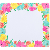 Floral Mouse Pad Notepad