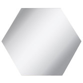 Hexagon Mirrors Adhesive Wall Art