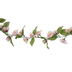 Light Pink Mini Rose Garland