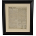 United States Constitution Framed Wall Decor