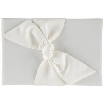 Satin Knot Guest Book