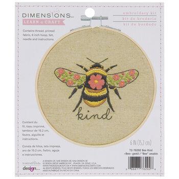Bee Kind Embroidery Kit
