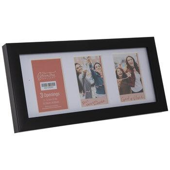 Black Flat Collage Frame
