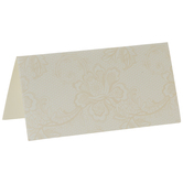 Lace Print Place Cards