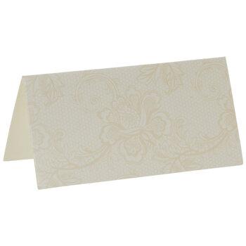 Lace Print Place Cards