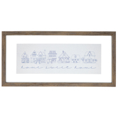 Home Sweet Home Framed Wall Decor