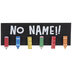 No Name Wood Wall Decor With Clips