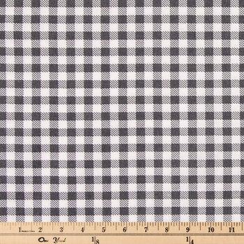 Buffalo Check Cotton Calico Fabric