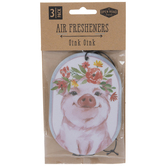 Floral Pig Air Fresheners