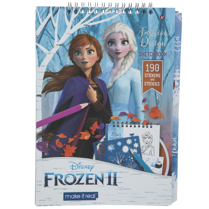 Frozen 2 Fashion Design Sketchbook Hobby Lobby 1875434
