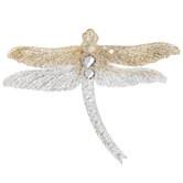 Glitter Dragonfly Ornament