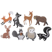 Woodlands Animal Stickers