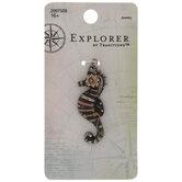 Steampunk Seahorse Pendant