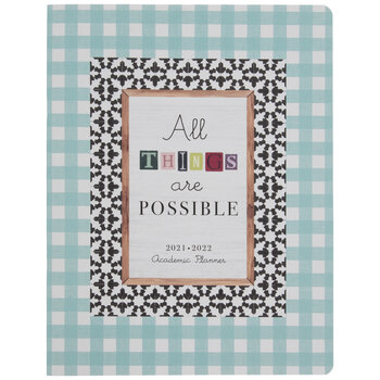 2021 - 2022 All Things Are Possible Academic Planner - 24 Months
