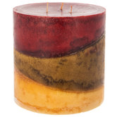 Cinnamon Spice Pillar Candle