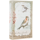 Vintage Bird Book Box