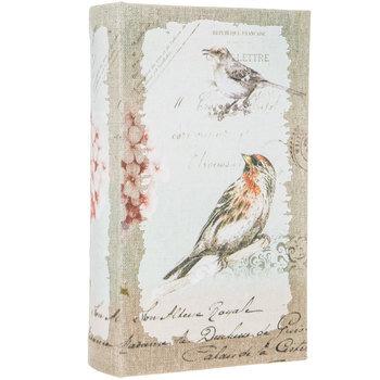 Vintage Bird Book Box