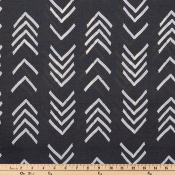 Bogolan Black Outdoor Fabric