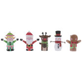 Christmas Character Paper Roll Craft Kit