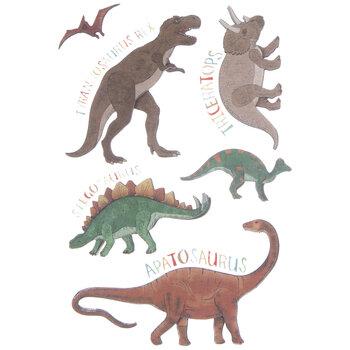Realistic Dinosaur 3D Stickers