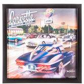 Chevrolet Sting Ray Lenticular Wall Decor