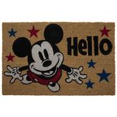 Mickey Mouse Hello Doormat