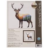 Deer Scene Counted Cross Stitch Kit
