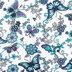 Filigree Garden Minky Plush Fabric