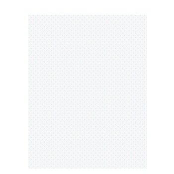 "Baby Blue Polka Dot Scrapbook Paper - 8 1/2"" x 11"""