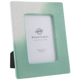 """Green Ombre Foil Spotted Frame - 4"""" x 6"""""""