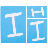 Fun Font Monogram Adhesive Stencils - I