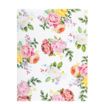 """Petals & Blooms Vellum Paper - 8 1/2"""" x 11"""""""