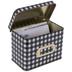 Buffalo Check Metal Recipe Box