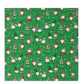 North Pole Gnomes Gift Wrap