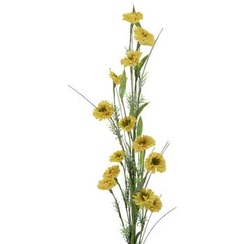 Light Yellow Zinnia Spray