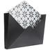 Black & White Star Envelope Metal Wall Decor