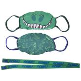Dinosaurs Kids Face Masks & Lanyard