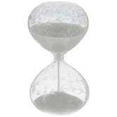 Iridescent Flower Hourglass