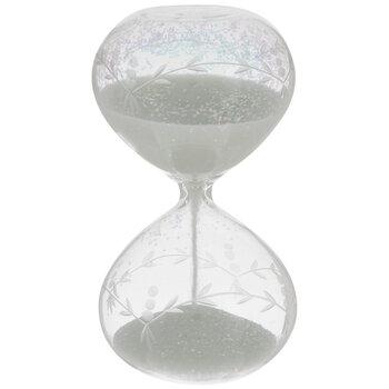 Iridescent Flower Hourglass