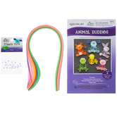 Animal Buddies Quilling Kit