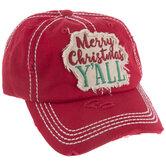 Merry Christmas Y'all Baseball Cap