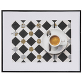 Art Deco Espresso Wall Decor
