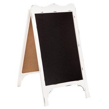 White Wood Chalkboard Easel