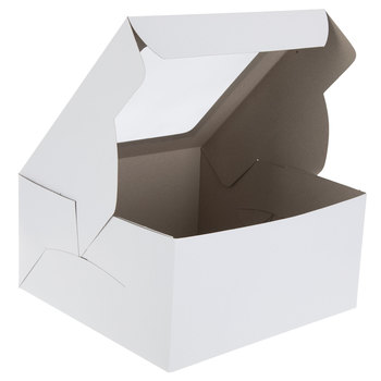 White Cake Box With Window